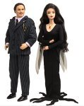 Barbie Collectables The Addams Family Barbie & Ken Set