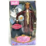 Barbie as The Princess and The Pauper: Ken as King Dominick and Tutor Julian Doll (African American)