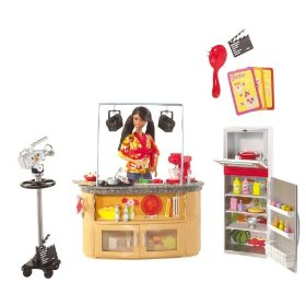 Mattel Barbie I Can Be TV Chef Playset (AA)