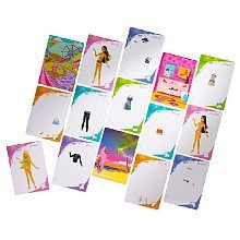 Barbie idesign Fashion Cards - Sporty Style