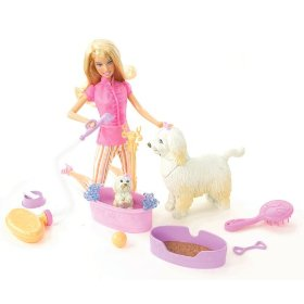 Barbie Reality Clean Up Pup Playset