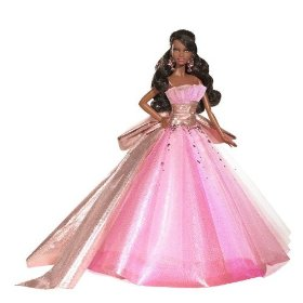 Barbie 2009 Holiday African-American Doll