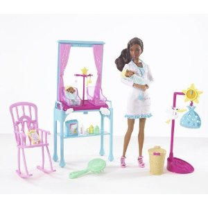 Barbie I Can Be: Newborn Baby (African American)Doctor