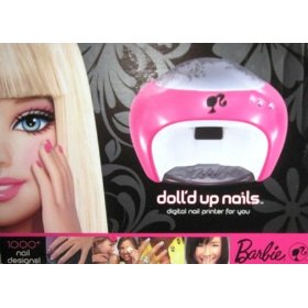 Barbie Dolled up Nails Digital Nail Printer