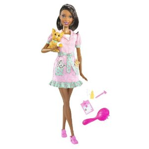 Barbie I Can Be: Pet Vet (African American)