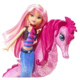 Barbie In A Mermaid Tale Seahorse Stylist Doll - Pink