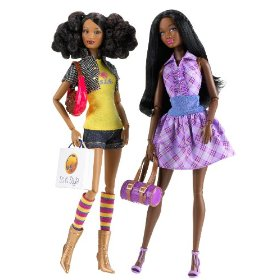 Barbie So In Style It Takes Two - Love 2 Shop Trichelle And Chandra Dolls