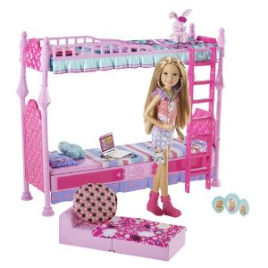 Barbie Sisters Sleeptime Bedroom and Stacie Doll Set